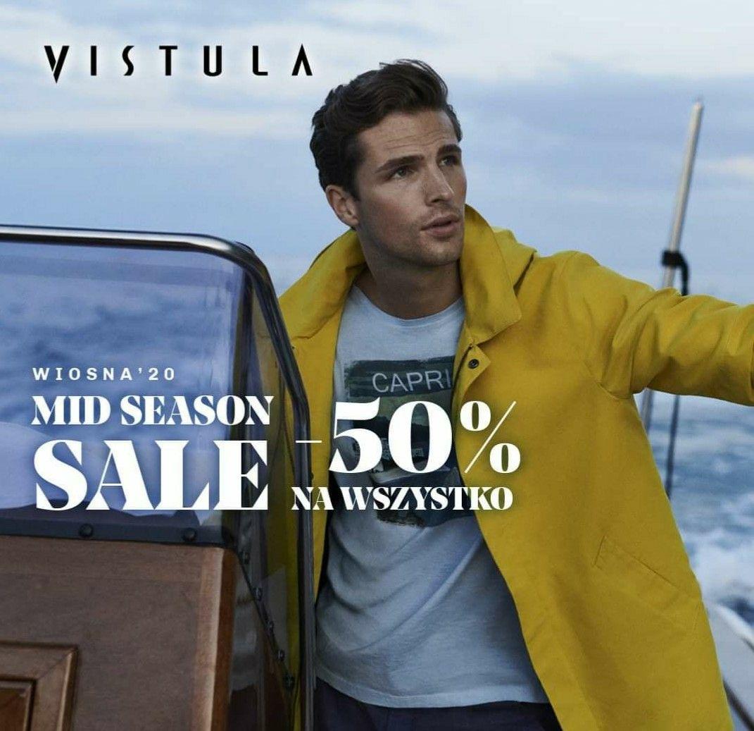 Vistula -50% na wszystko Mid season sale