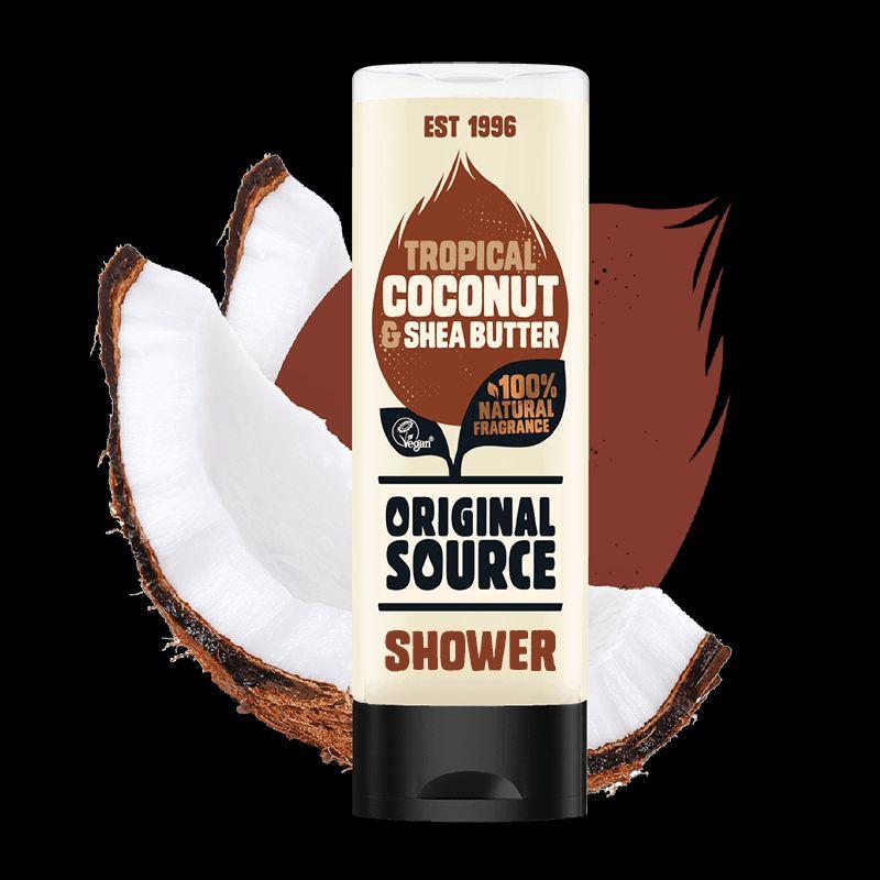 Żel pod prysznic Original Source Coconut & Shea Butter 500ml