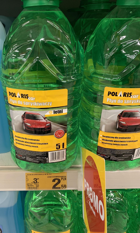 Płyn do spryskiwaczy letni 5l Polaris Auchan