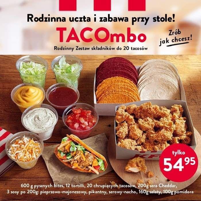 TACOmbo w KFC z darmową dostawą!
