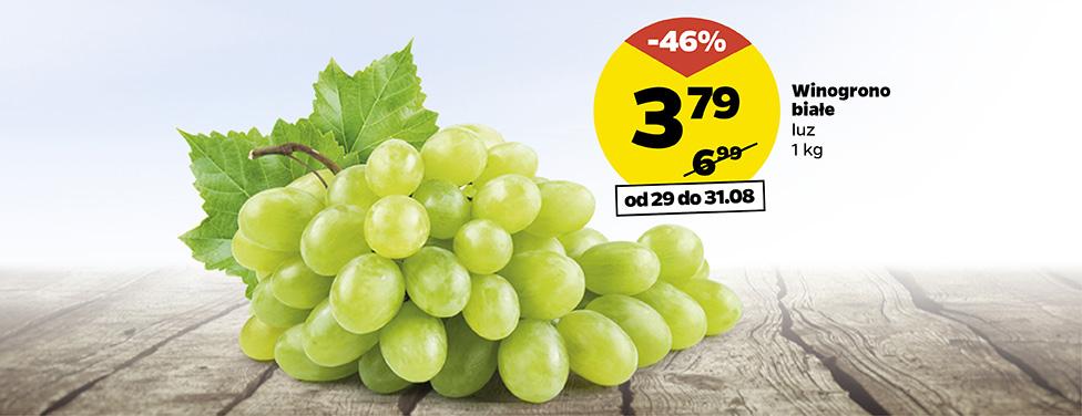 Winogrono białe luz kg @Netto