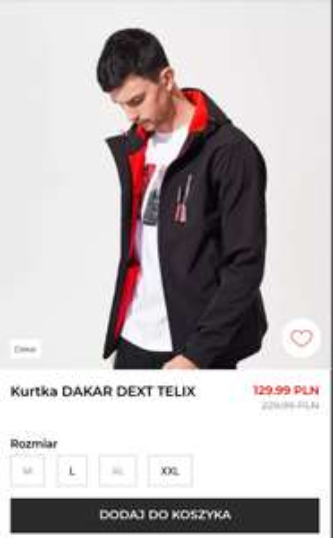 Kurtka DAKAR DEXT TELIX