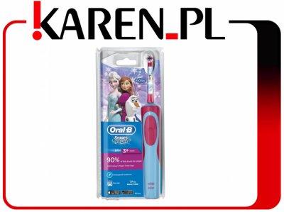 Szczoteczka elektryczna Oral-B D12 Kids Frozen @Karen na Allegro
