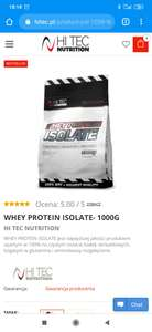 Whey Protein Isolate 1000g