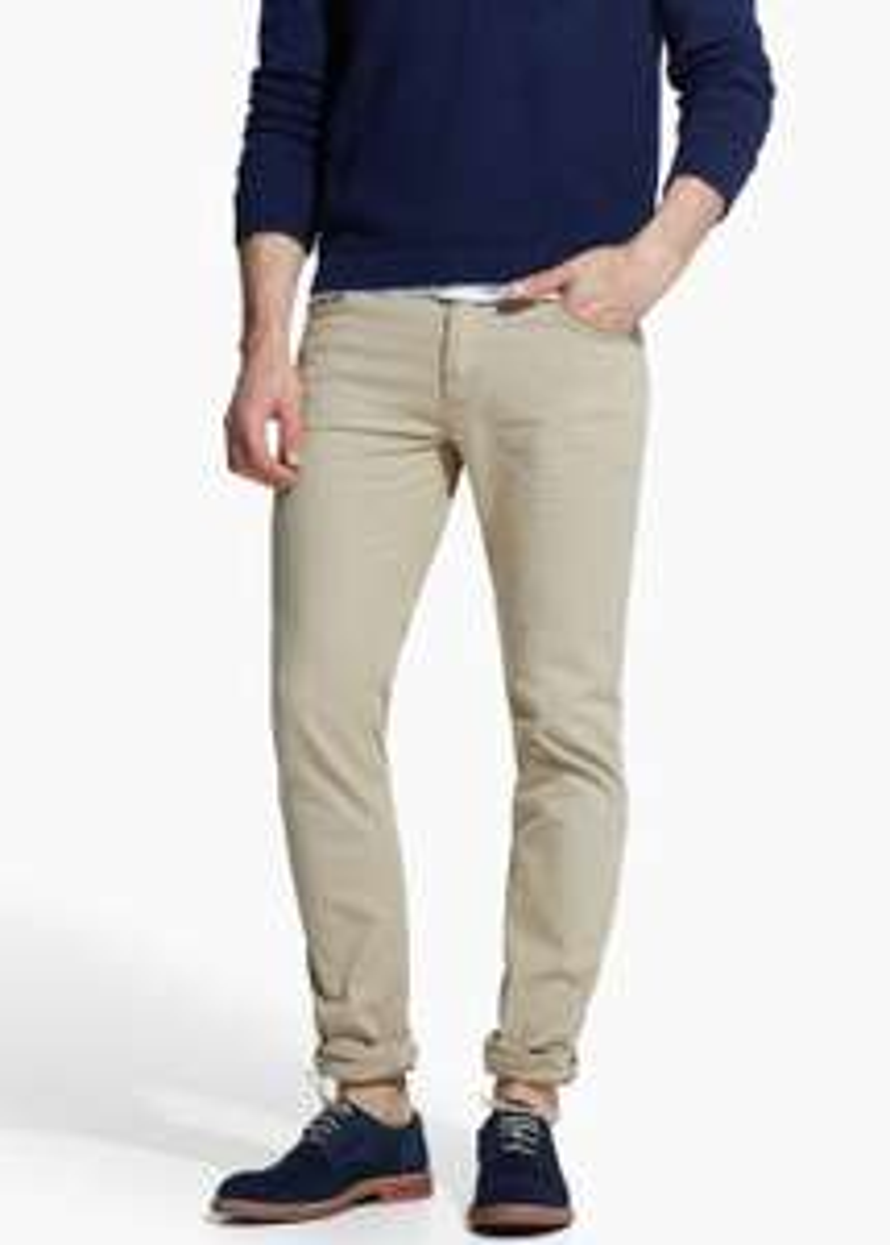Bawełniane spodnie slim-fit (5 kieszeni, różne kolory) za 35,90zł @ Mango Outlet