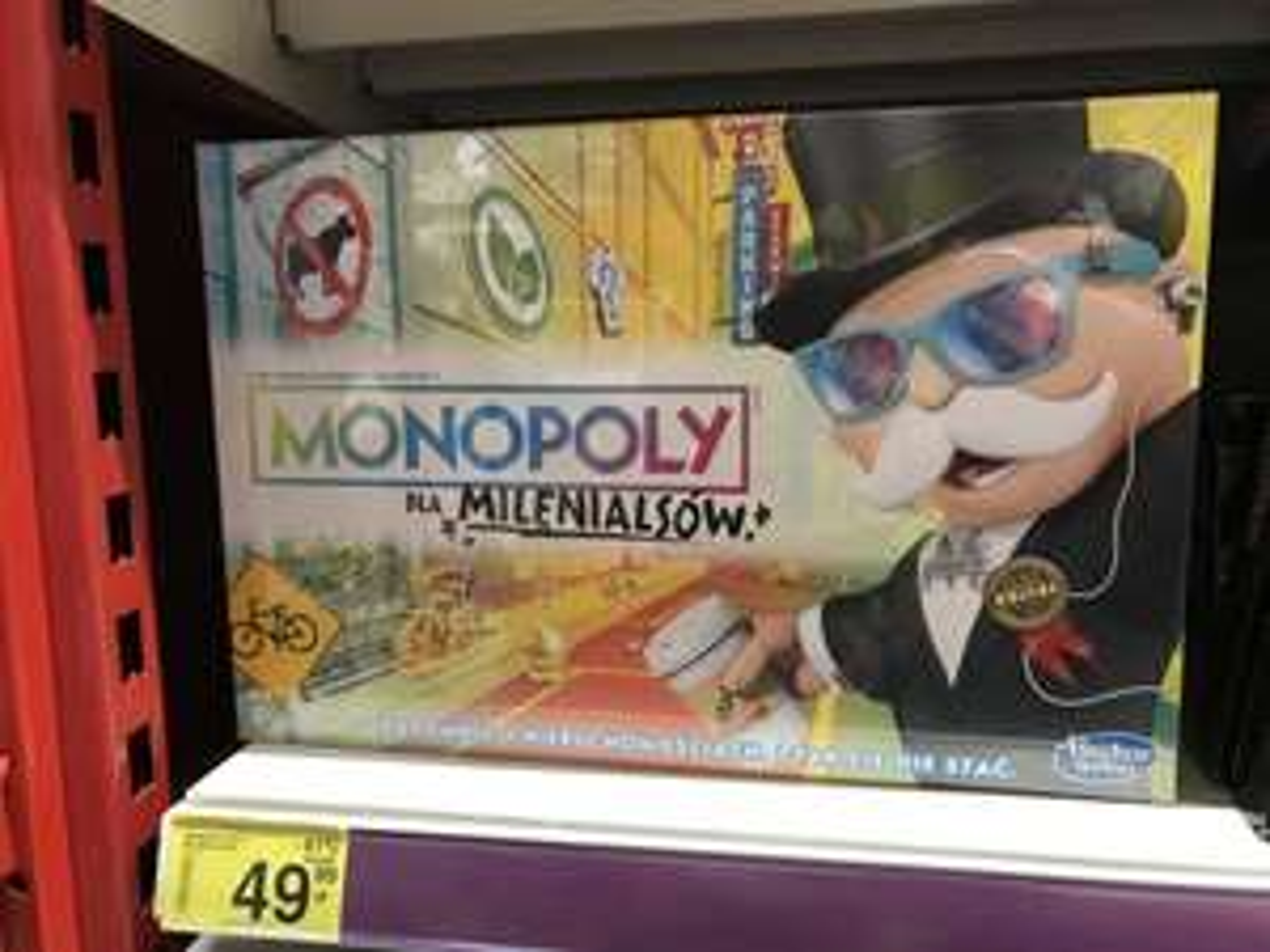 MONOPOLY wersja dla milenialsów