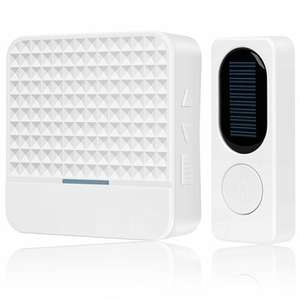 Dzwonek do drzwi Forecum FK-D009 433Mhz Wireless Solar Doorbell