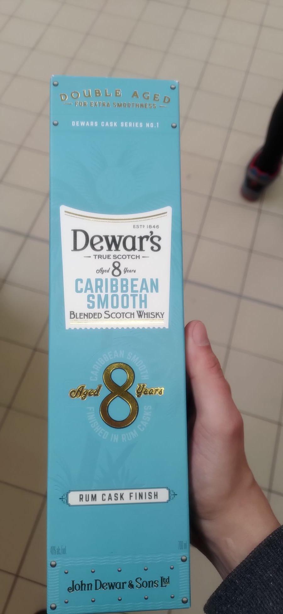 dewars 8 caribbean smooth E.Leclerc gdansk