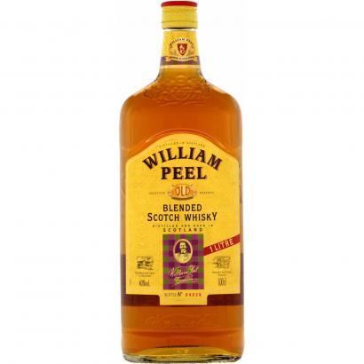 Lidl whisky William Peel 1 litr
