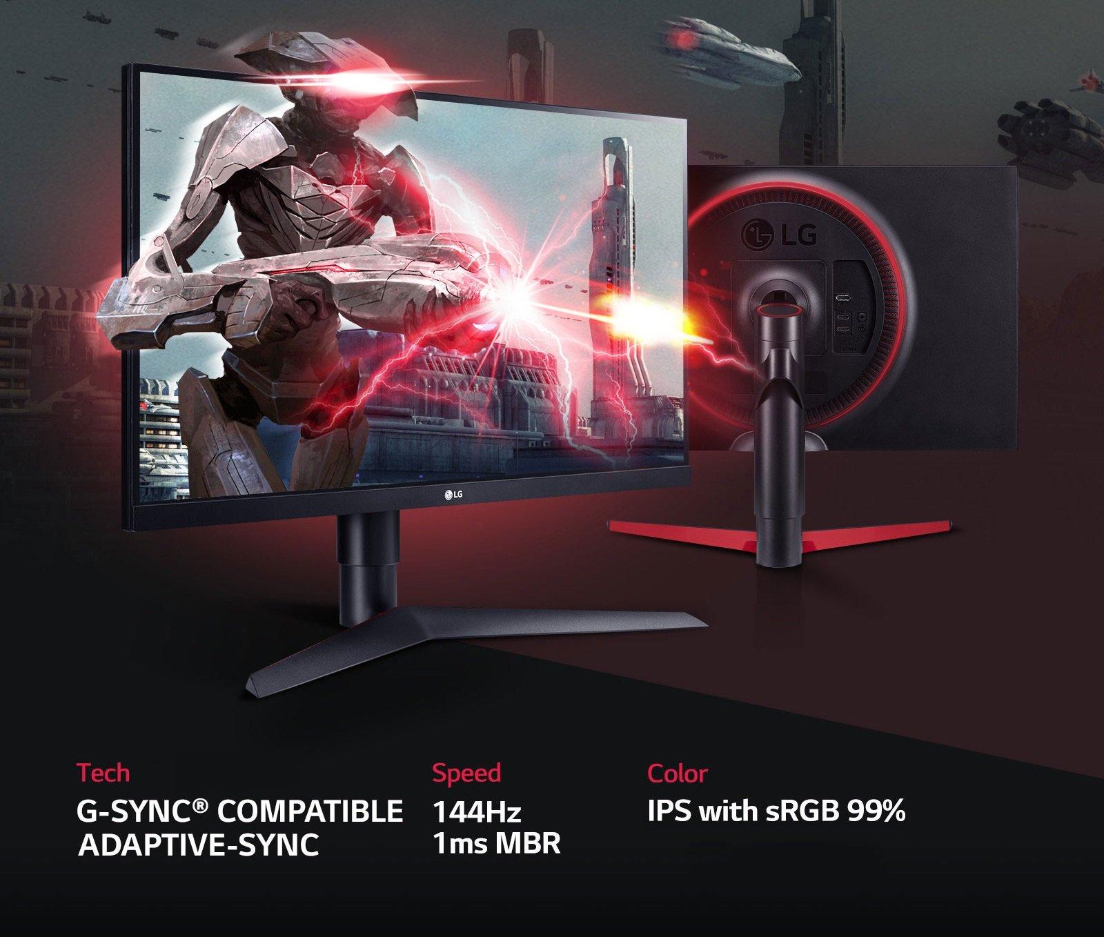 Monitor LG UltraGear 27GL63T-B 144Hz IPS