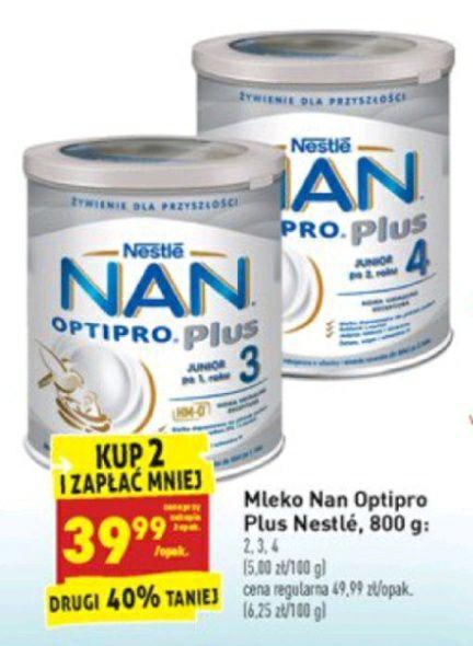 Biedronka Mleko Nan Optipro Plus