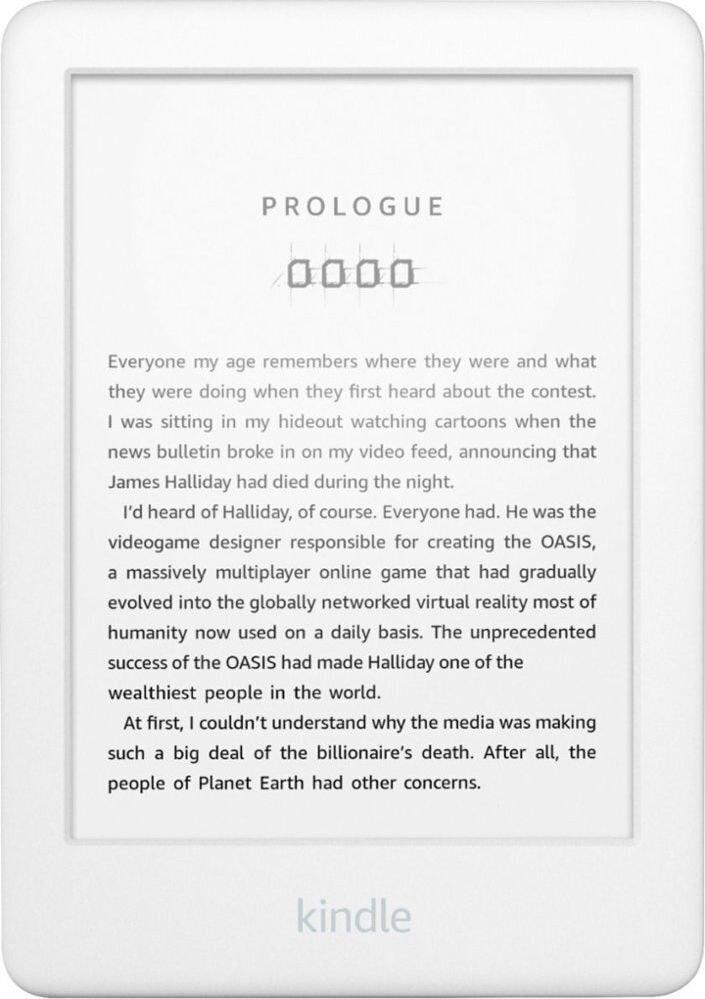 Czytnik książek Amazon Kindle 10 2019 biały