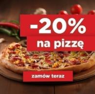 -20% na pizzę [ważne tylko dziś!]