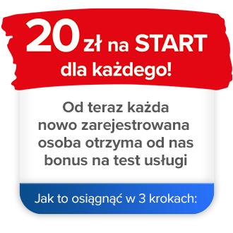 Panek Car Sharing - 20 zł na start, dla nowych użytkowników.