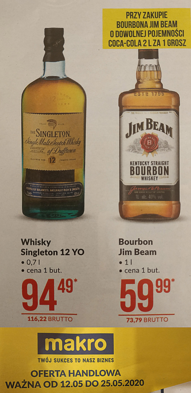 Whisky Singleton 12 YO 0,7L - makro