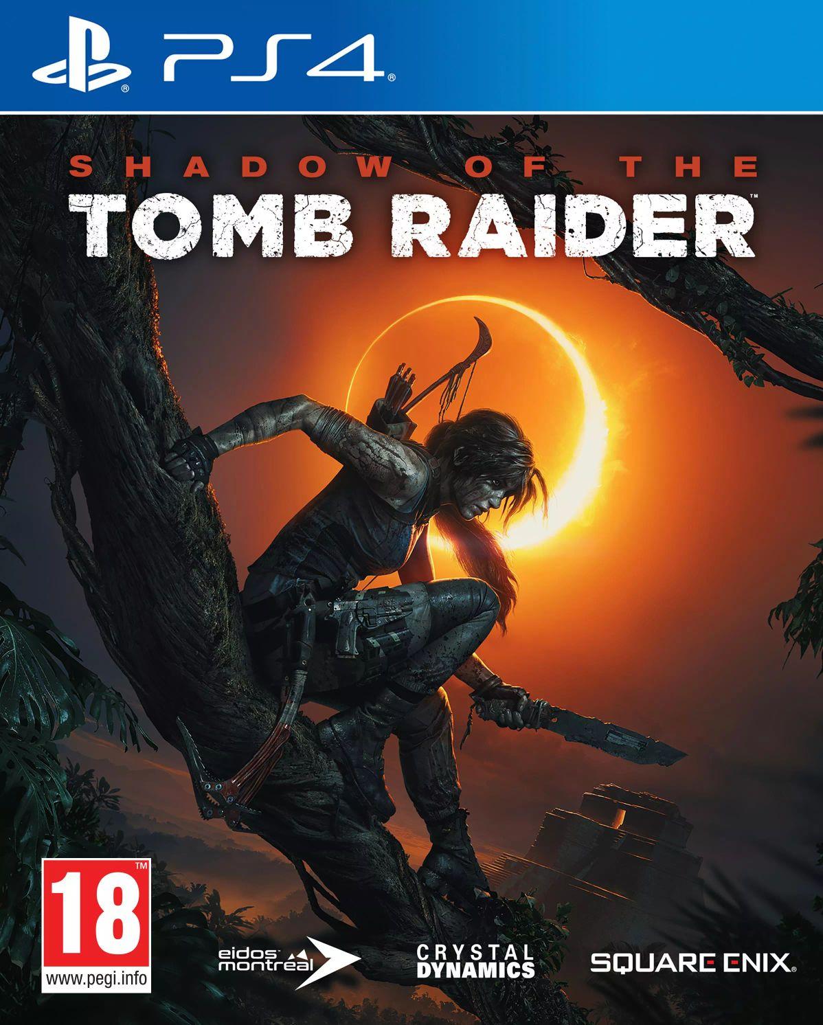 Shadow of the Tomb Raider (PS4, pudełkowa)