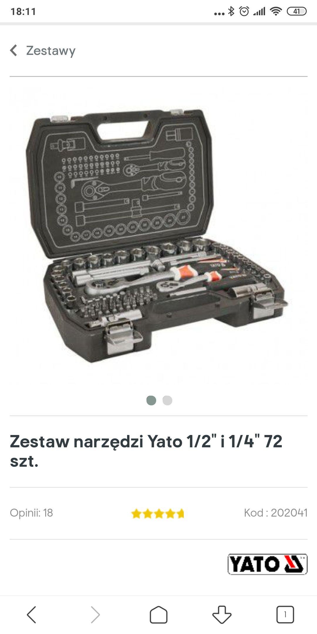 YATO Zestaw narzędzi