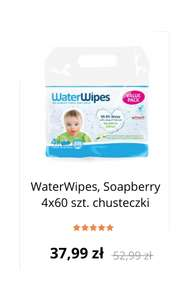 WaterWipes Soapberry 4x60