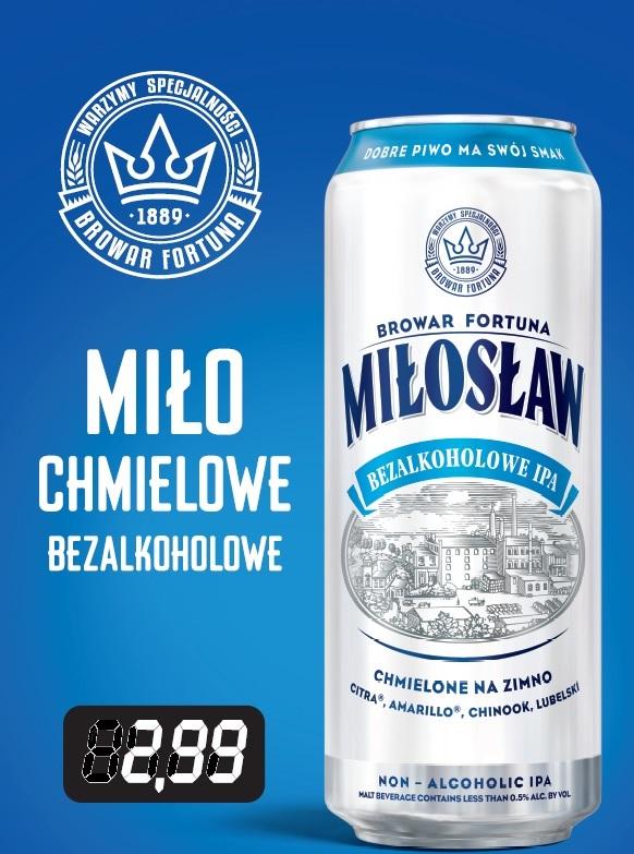 Miłosław Bezalkoholowe IPA puszka po 2,99zł Stacje Paliw Crab