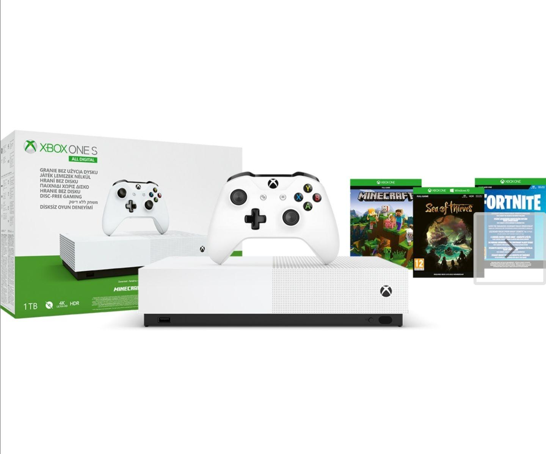 Konsola Xbox One S 1TB All-Digital Edititon + GRY