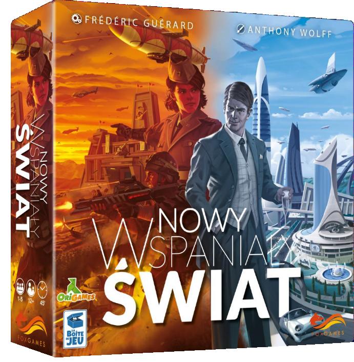 Nowy Wspaniały Świat - gra planszowa - Bonito