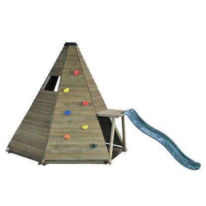 Tipi ze ścianką wspinaczkową dla dzieci