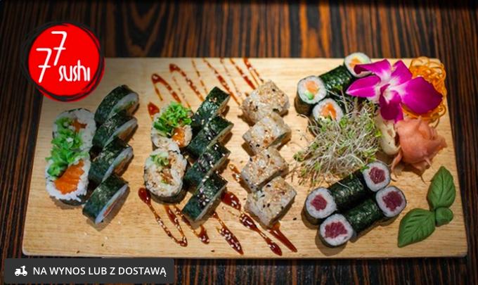 Zestaw Samuraj (30 kawałków) w 77 Sushi (lub Sumo-42 kawałki za 89 zł) @Groupon