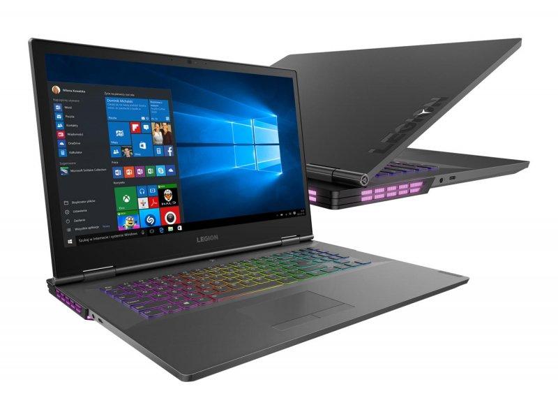 Laptop Lenovo Legion Y740-17 i7/16GB/1TB/Win10P RTX2070 144Hz + 3 miesiące Adobe Creative Cloud