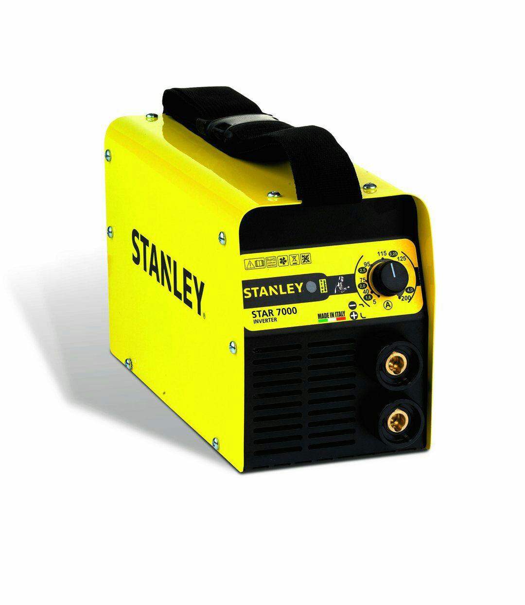 Spawarka inwentorowa Stanley star 7000 + przyłbica + walizka