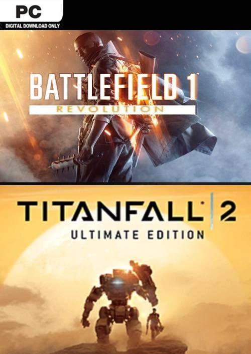 Pakiet Battlefield 1 + Titanfall 2 (PC) Origin za 31,89zł