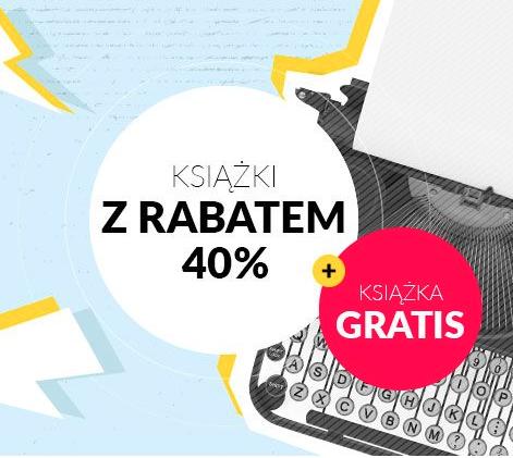 Książki wydawnictwa Albatros z rabatem 40% + książka gratis