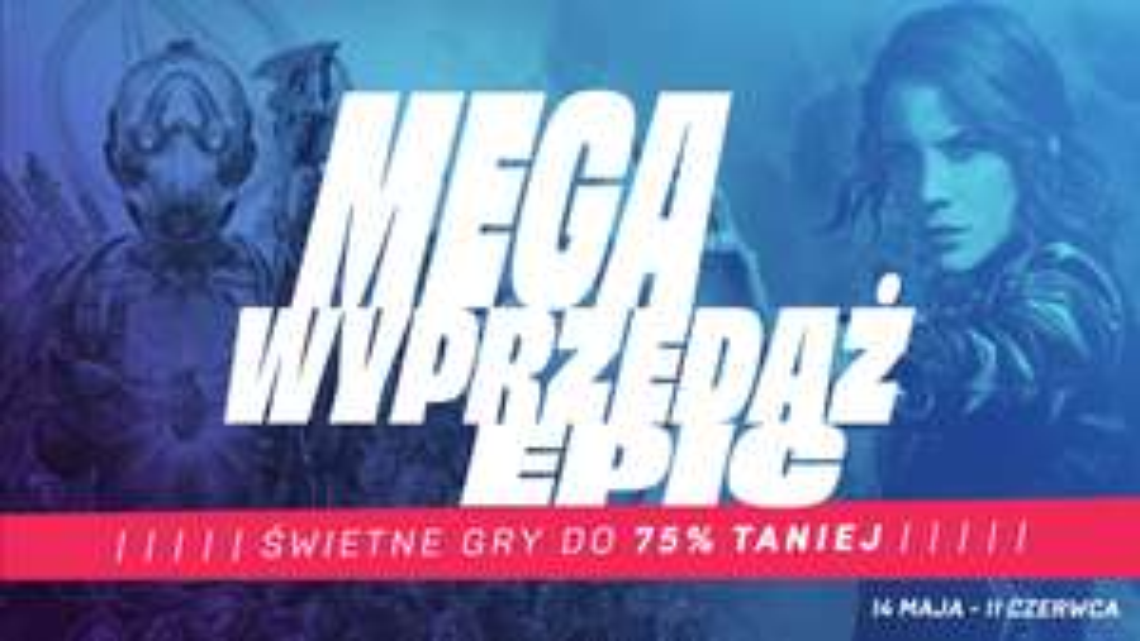 Mega wyprzedaż Epic Games Kupon -40zł MWZ 59,99zł