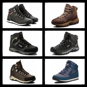 Kompilacja buty trekkingowe