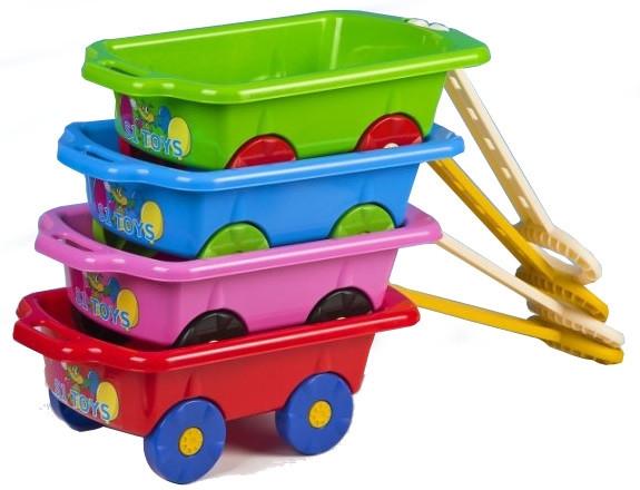 Wózek z rączką do ciągania zabawek, o.os.0zł
