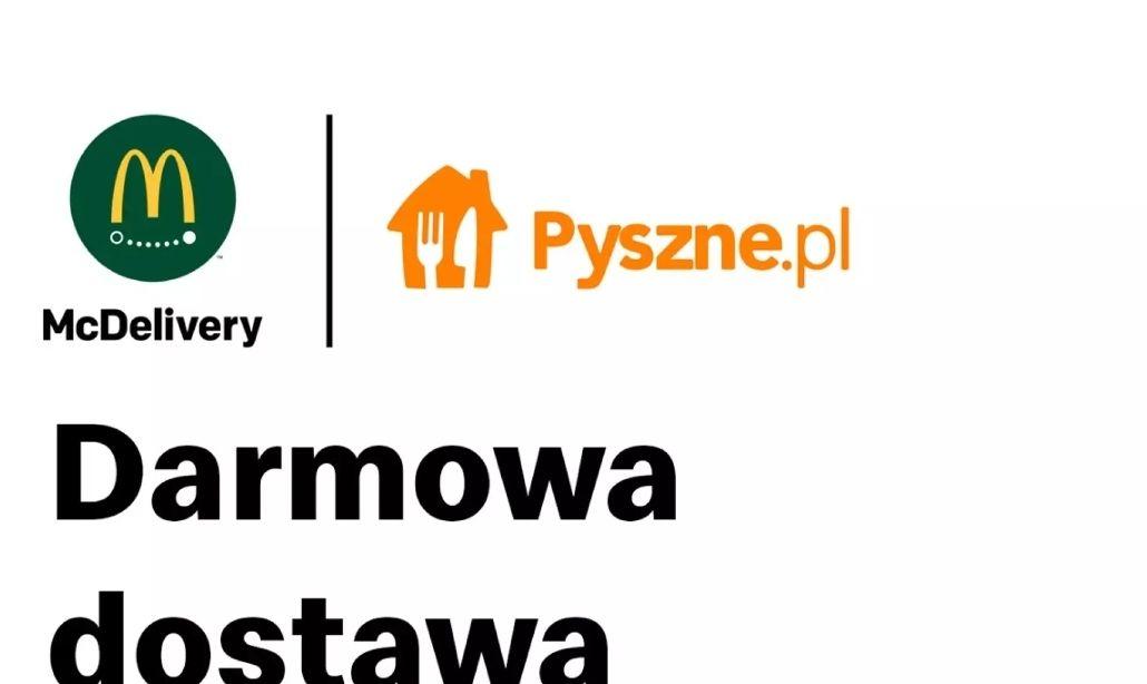 McDonald's MWZ 30 Darmowa dostawa Pyszne.pl