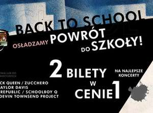 Ticketmaster.pl - dwa bilety na wybrane koncerty w cenie jednego