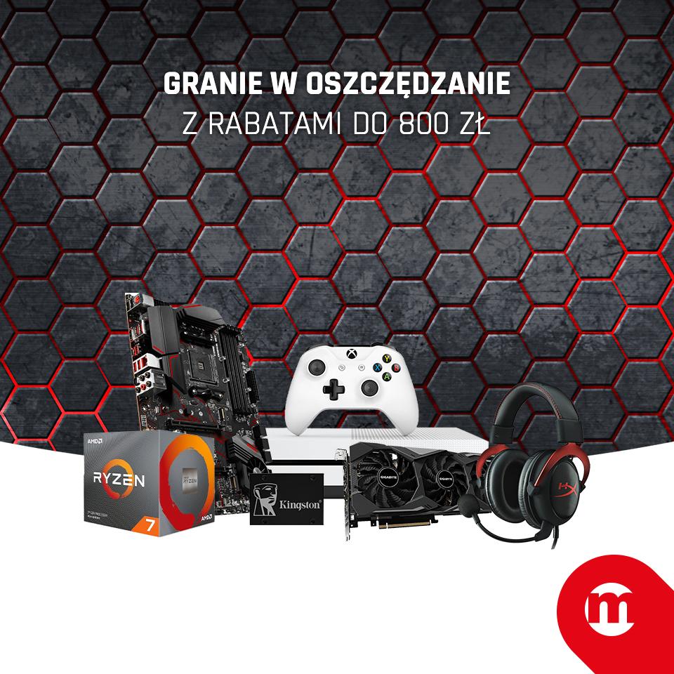 Granie w oszczędzanie - wybrane części komputerowe, akcesoria, gry i inne (np. GTX 1650 4GB za 799zł) @ Morele