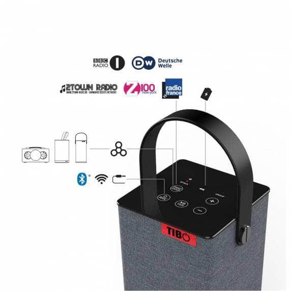 Głośniki Bluetooth/Wi-Fi Tibo UK (Sphere, Choros, Harmony) @Amazon