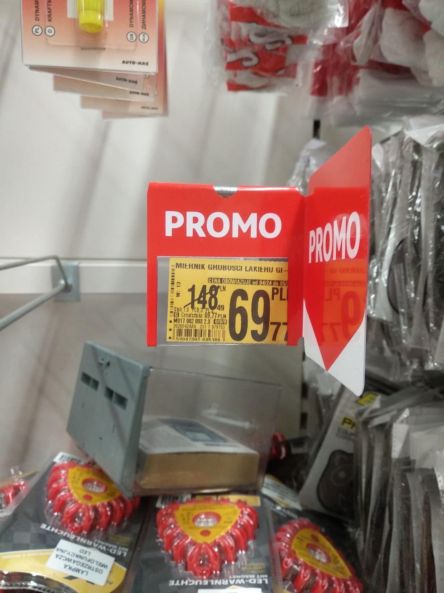 Miernik grubości lakieru Prodig-Tech GL-2+ @Auchan