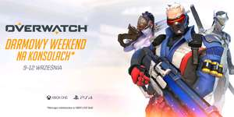 Overwatch za darmo przez weekend na Xbox One i PS4