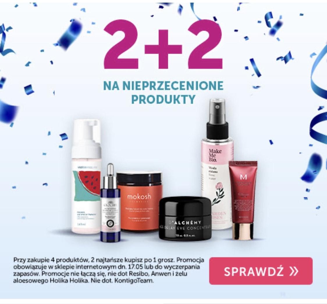 2+2 na nieprzecenione produkty! KONTIGO