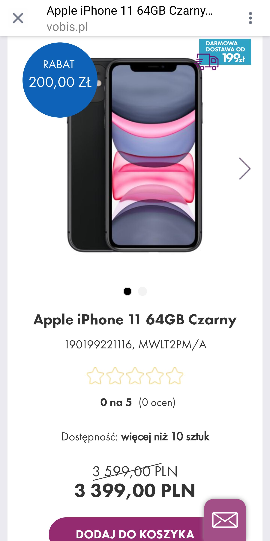Iphone 11 64gb black