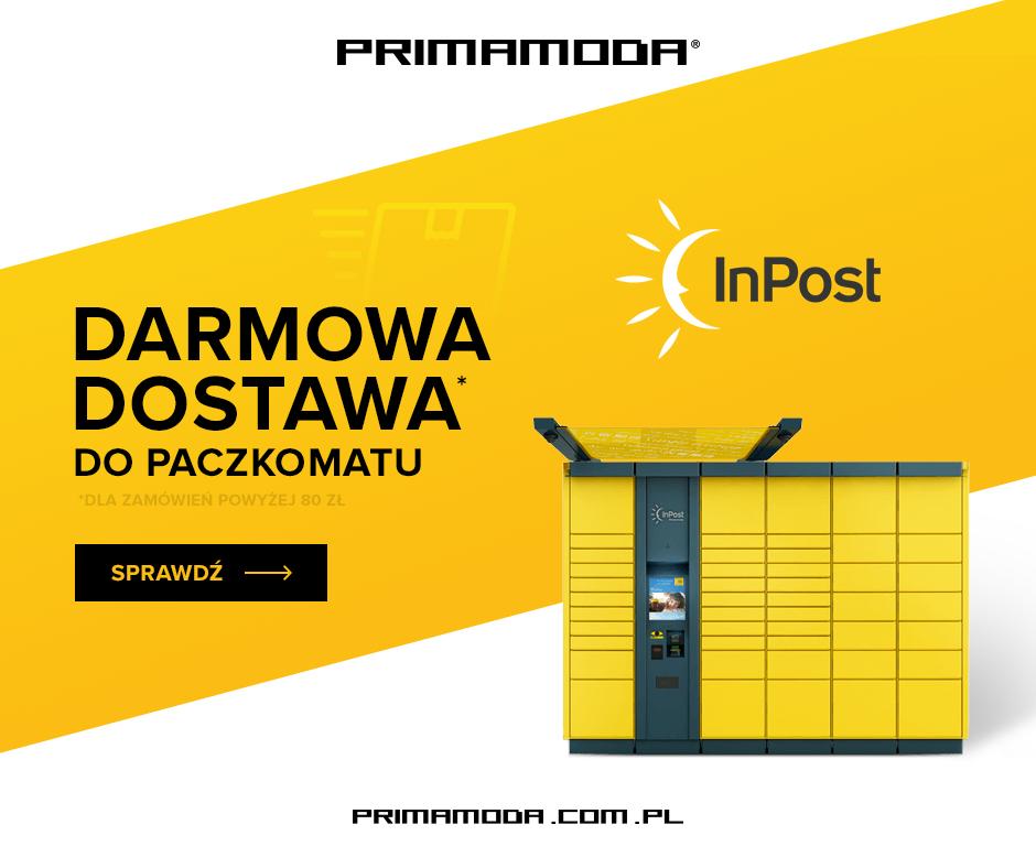 Darmowa dostawa do paczkomatu @ Primamoda