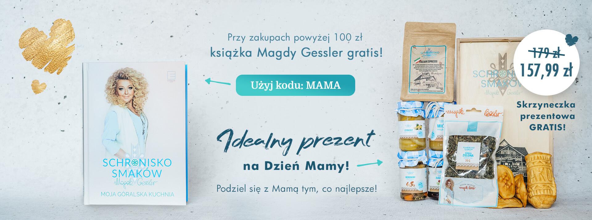 Góralski prezent na Dzień Mamy - Książka Magdy Gessler i pyszny zestaw jedzenia!