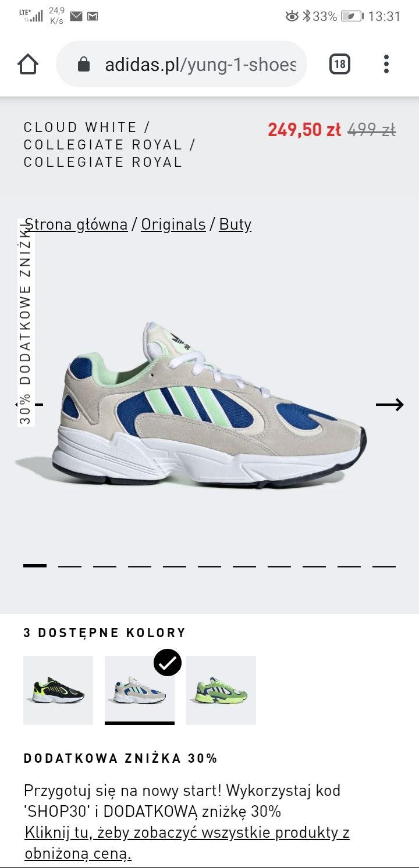 Buty adidas yung 1