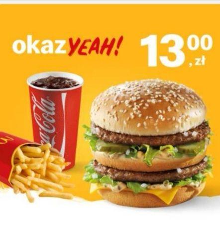 Zestaw McDonalds Big Mac OkazYEAH!