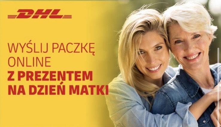 DHL 20% taniej z okazji Dnia Matki