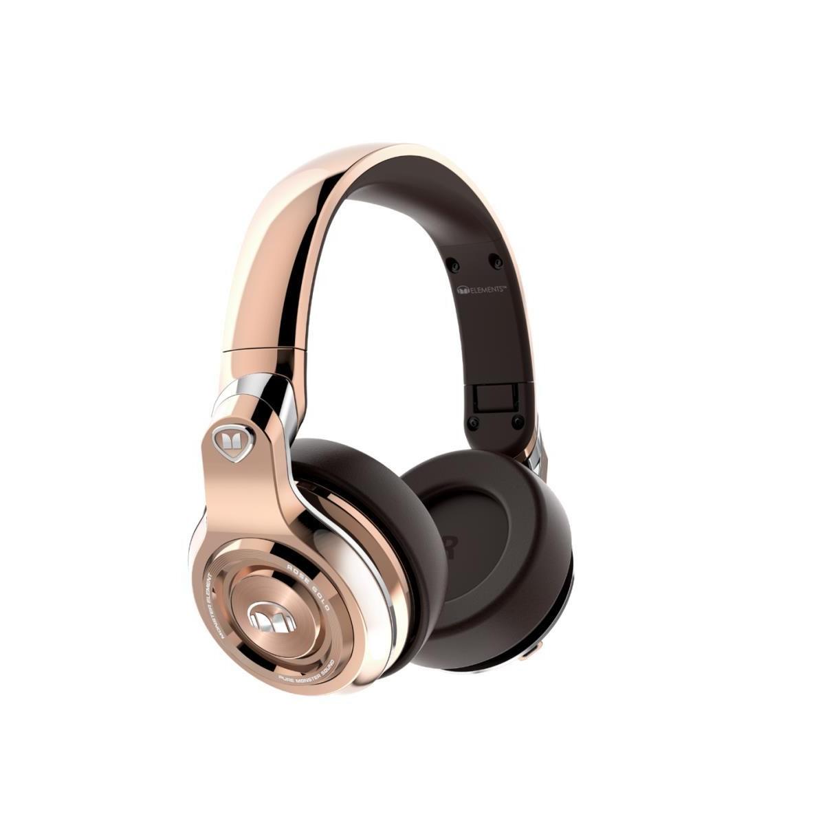Słuchawki Bezprzewodowe ELEMENTS OVER-EAR BT GOLD MONSTER