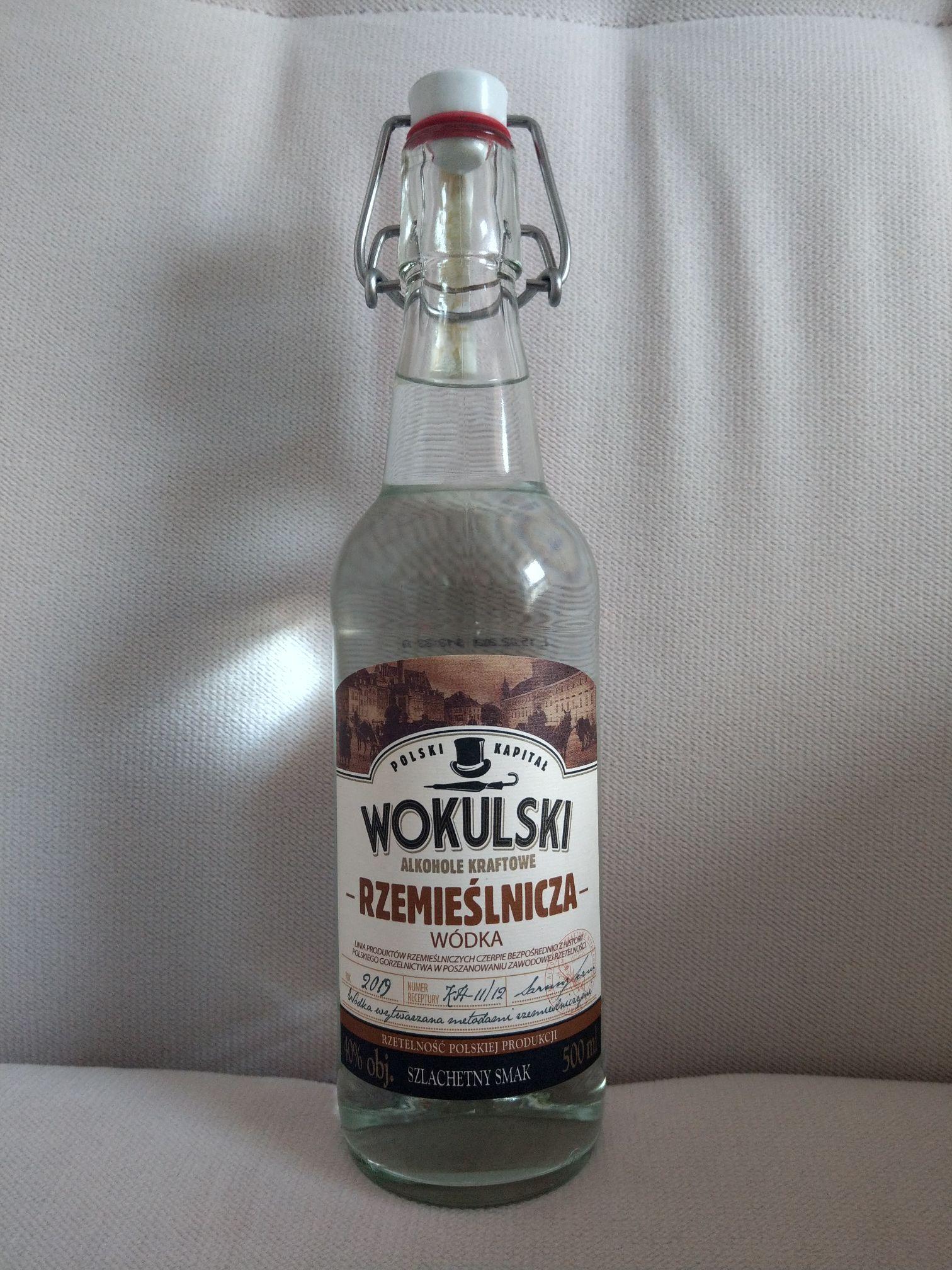 Wódka Wokulski Rzemieślnicza 0,5 l @Aldi Jaworzno