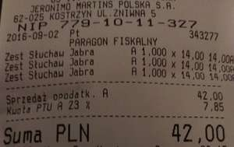 Słuchawka JABRA BT2045 za 14 zł- Biedronka